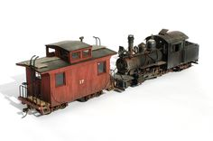 Mount Blue Model Co Caboose N Scale Trains, Ho Trains, Model Trains, Diorama, Escala Ho, Wooden Toy Train, Train Truck, Standard Gauge, Rail Car