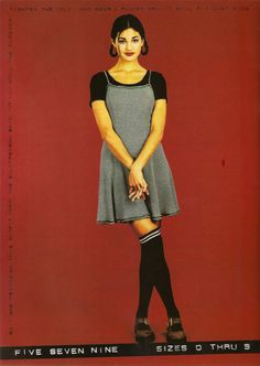 90s-outfits: 1994 ad in Teen magazine