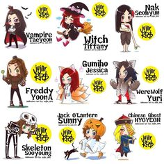 Snsd Halloween's Day Fanart