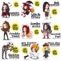 SNSD Halloween