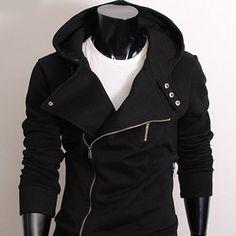 (RHJ-BLACK) Unbalance rider zipup hood jacket BLACK