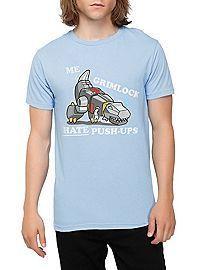 Tranformers Grimlock Hate Push-Ups T-Shirt