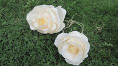 GIGANT roses Crepe Paper Flowers Wedding by moniaflowers on Etsy