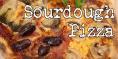 Foodgeek ♥ Sourdough Pizza, Sourdough Recipes, Pizza Recipes, My Recipes, Starter Recipes, Pizza Oven Temperature, New York Pizza, Best Homemade Pizza, Gorgonzola Cheese