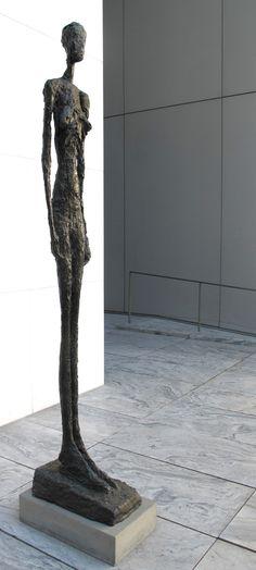 Alberto Giacometti -MoMa - NY. By Klaus Oppenheimer