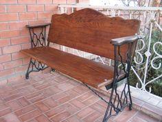 Мебель из ретро швейных машин (подборка)
