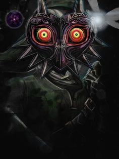 The Darkness of Majora's Mask  by studiomuku