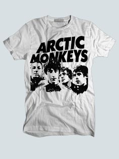 Arctic Monkeys Art Cover Custom T shirts,Band Merchandise,Tees,Clothing,Short sleeve (Made in USA)