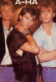 AHA - Viva la musica de los 80 - I was so in love with Morten! :-)
