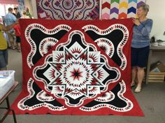 Glacier Star, Quiltworx.com, Made by Shirley Budwig.