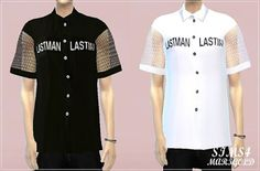 My Sims 4 Blog: Shirts and Cat Choker for Males & Females by Marig...