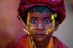 Holi o Festival de Cores da Cultura Hindu.