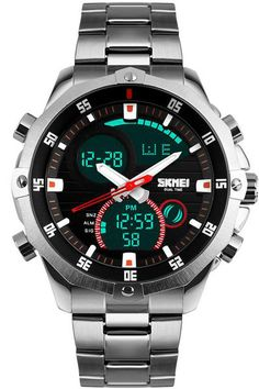 Men's Watches Watches Generous Sanda Luxury Brand Outdoor Men Watch Multifunction Waterproof Compass Chronograph Led Digital Sports Watches Modern Design