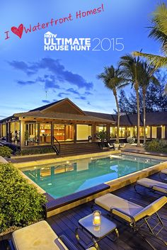 Vote for the world's most amazing waterfront homes + Enter for a chance to win $10,000! Click Through to Vote + Enter Now. NO PURCHASE NECESSARY. Ends 7/27/15. To enter and for complete details, visit www.hgtv.com/househunt.