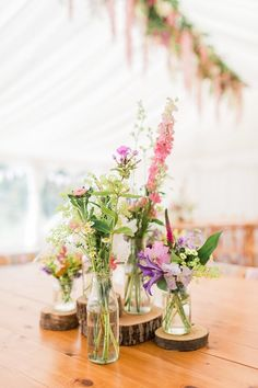 Marquee Wedding, Wedding Venues, British Flowers, Seasonal Flowers, Wedding Flowers, Rustic, Table Decorations, Home Decor, Wedding Reception Venues