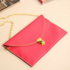 Envelope Clutch Womens Girls Chain Purse Handbag chain bag small messenger bag Tote Shoulder Hand Bag Ladies Casual Pocket bag-inMessenger B...