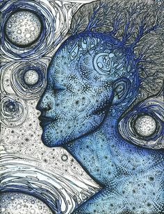 I really love this one by artist Melody Sage as well. Too cool.