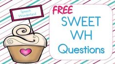 A Sweet Freebie on answering Who, What, When, Where, and Why questions.  If you grab this freebie, please take the time to leave feedback. Thank you :)