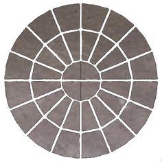 Bradstone Grey Reconstituted Stone Circle Paving Kit | Departments | DIY at B&Q