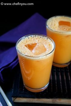 Pineapple, Carrot and Ginger Juice Recipe | Detox Food Recipes