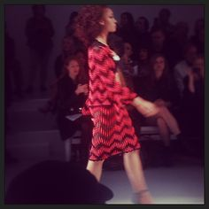 The skirt suit is back for #SS14 thanks to #newgen winners #sisterbysibling #lfw