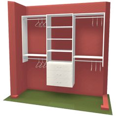 i like itgunna have to tweek it so i can make it out of lumber instead of a premade closet kit for the rainbow house pinterest rainbow house diy - Do It Yourself Closet Design Ideas