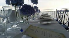 Hydrangea and sea. Event creations