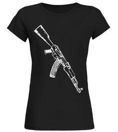 AK-47 7.62x39, Not Runnin Come Get It 2nd Gun Right Shirt
