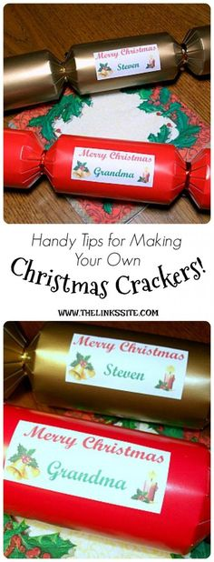 Making your own christmas crackers christmas crackers crackers making your own christmas crackers christmas crackers crackers and diy decoration solutioingenieria Image collections