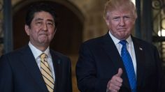 Shinzo Abe's golf diplomacy shows world leaders how not to end up in the sand traps with the Trump administration.