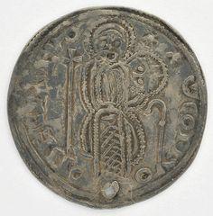 Viking age / Finnish /Kolikko; Bysanttilaisen hopearahan jäljitelmä v.1050