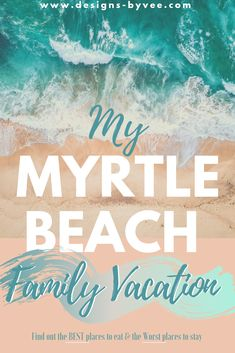 Ready for a family vacation? A quick getaway that's cost efficient? Find out how My Myrtle Beach Family Vacation went and all the great spots to visit.