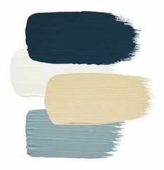 Then next year we can paint body of house the blue on bottom and it will look great with taupe trim and the natural wood porch 😊 Paint Color Combos, Colour Pallette, Paint Colors For Home, Colour Schemes, House Colors, Color Swatches, Color Stories, Pantone Color, Color Theory