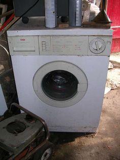 Turn an Old Washing Machine into a Backyard Fire Pit » Curbly   DIY Design Community