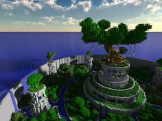 minecraft building ideas Post with 98317 views. Tree of Life Plans Minecraft, Minecraft Tree, Minecraft Structures, Easy Minecraft Houses, Amazing Minecraft, Minecraft Tutorial, Minecraft Blueprints, How To Play Minecraft, Minecraft Crafts