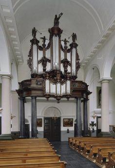 Orgel uit 1868 van François-Bernard Loret in de Sint-Lambertuskerk (Udenhout)