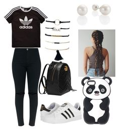 """""""Untitled #13"""" by maribeltheflower on Polyvore featuring adidas Originals, adidas and Gucci"""