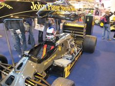 Nigel Mansell's Lotus at the Autosport Show 2013.