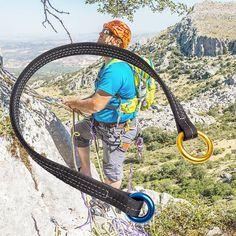 25KN Escalade Mousqueton Crochet Screw Gate Serrure Caving Alpinisme