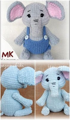 In this article we will share a very nice amigurumi crochet elephant pattern. You can find everything you want about amigurumi. In this article we will share a very nice amigurumi crochet elephant pattern. You can find everything you want about amigurumi. Crochet Elephant Pattern Free, Crochet Dolls Free Patterns, Amigurumi Patterns, Crochet Toys, Free Crochet, Stuffed Animal Patterns, Stuffed Animals, Amigurumi Doll, Baby Elephant