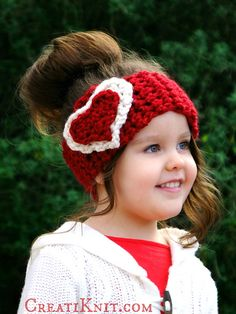 Show your love to someone with this beautiful and adorable head warmer! Super quick to make and fun the wear, The Cupid Head Warmer by CreatiKnit is the perfect for Valentine's Day and for nay day when you feel the need to spoil someone. Instructions to crochet are written for 6 approximate sizes: from 3 …