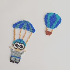 Et lille projekt i Hama mini perler #faldskærmsspring #luftballon #hama #hamamini #beads #perler #pattern #hobby #kreativitet #inspiration #paddysperler #hobbygaardenkaas #anjatakacs #Colors #follow4like #followmypage #follow4follow #picoftheday #picture_to_keep @paddys_perler
