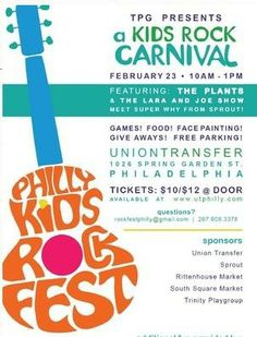 Philly Kids Rock Fest Philadelphia, PA #Kids #Events