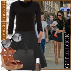 How To Wear Happy Birthday Victoria Beckham!!!!!!!! Outfit Idea 2017 - Fashion Trends Ready To Wear For Plus Size, Curvy Women Over 20, 30, 40, 50