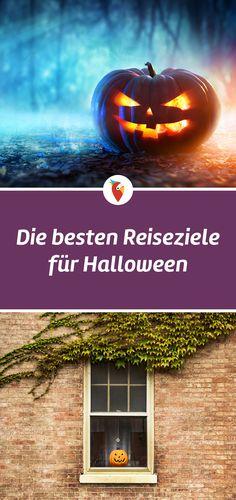 Diese Reiseziele bieten sich für Halloween perfekt an. Alle Infos via Urlaubspiraten.de #Halloween #Reisen Halloween Bucket List, Halloween Buckets, Strand, Berlin, Trips, Wanderlust, Journal, Travel Advice, Slovenia