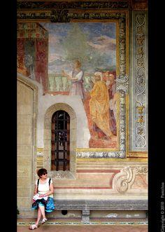 Naples : Frescoes / Santa Chiara  Cloister delle Clarisse    8/12 by Pantchoa, via Flickr