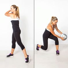 Medicine Ball Workout: 9 Moves to Tone Every Inch - Shape.com