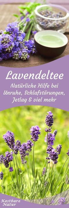 Lavendel sieht nicht nur schön aus und riecht angenehm. In einem Tee oder einer selbstgemachten Teemischung kannst du seine heilsamen Kräfte nutzen.