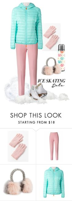 """""""Skating on Cooper's Pond"""" by patricia-dimmick ❤ liked on Polyvore featuring Urban Outfitters, Esme Vie, Eugenia Kim, Save the Duck, skates and iceskatingoutfit"""