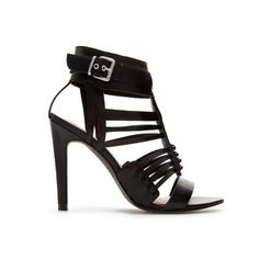 STRAPPY SANDALS WITH ANKLE BUCKLE - Heeled sandals - Shoes - TRF   ZARA United Kingdom 40£